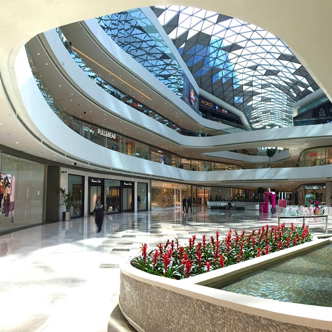 Vadistanbul AVM, Shopping Center Interiors, istanbul