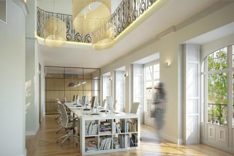 IKAV Headquarters Interiors, Madrid, Spain